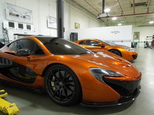 McLaren P1 spotted in Illinois