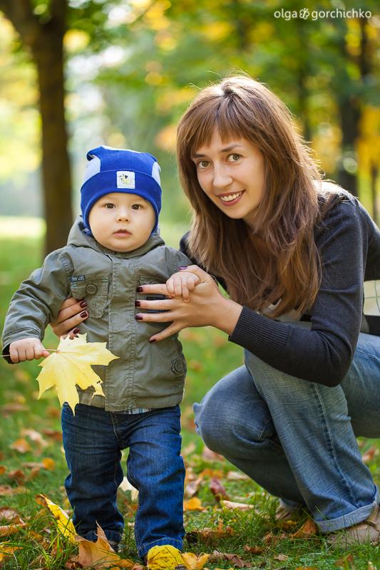 Осенний день рождения Тимофея. Осенняя фотосессия. Детский фотограф Ольга Горчичко