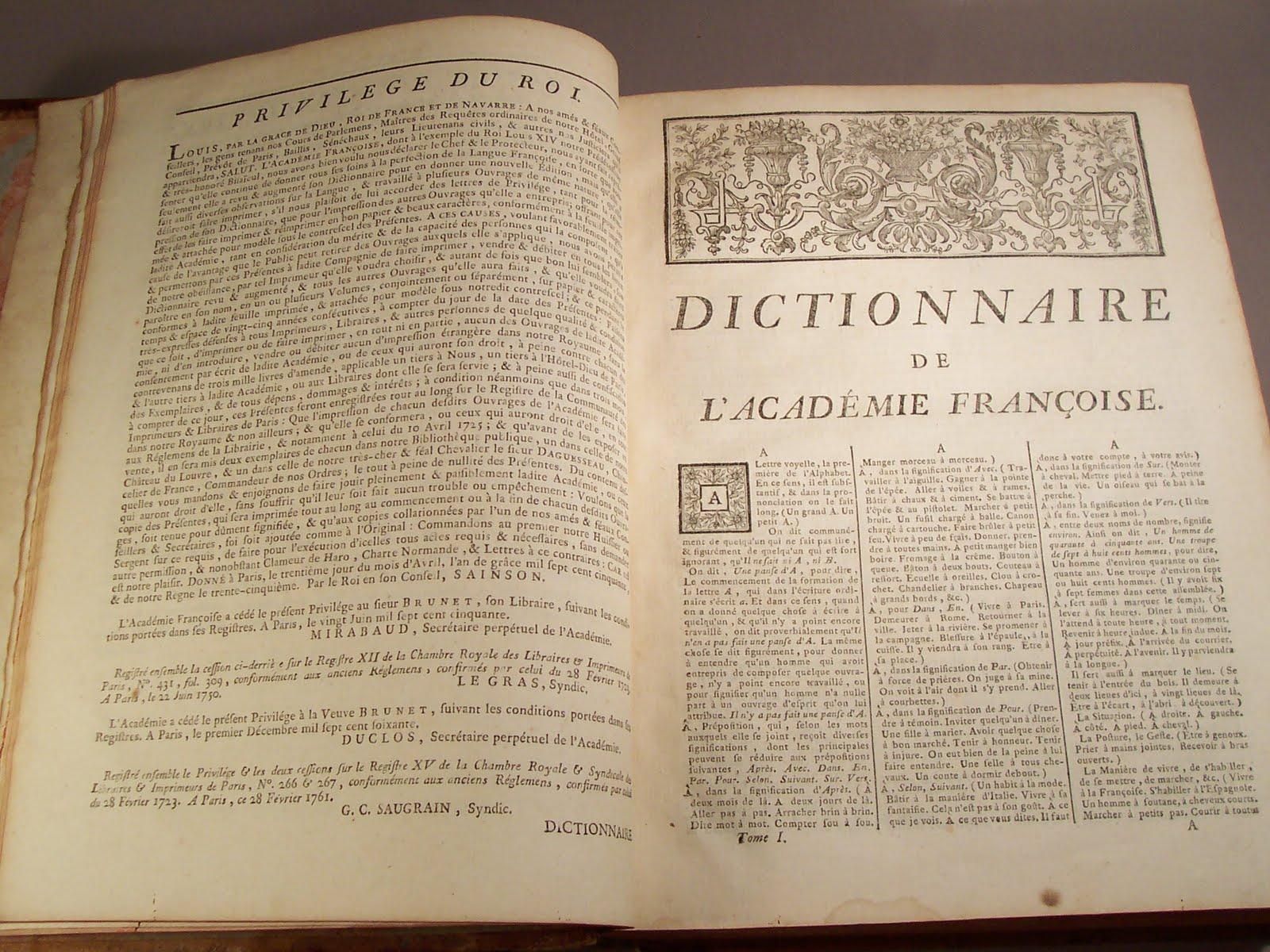 Librairie ancienne et autres tr sors 4eme dition du - Dictionnaire cuisine francais ...