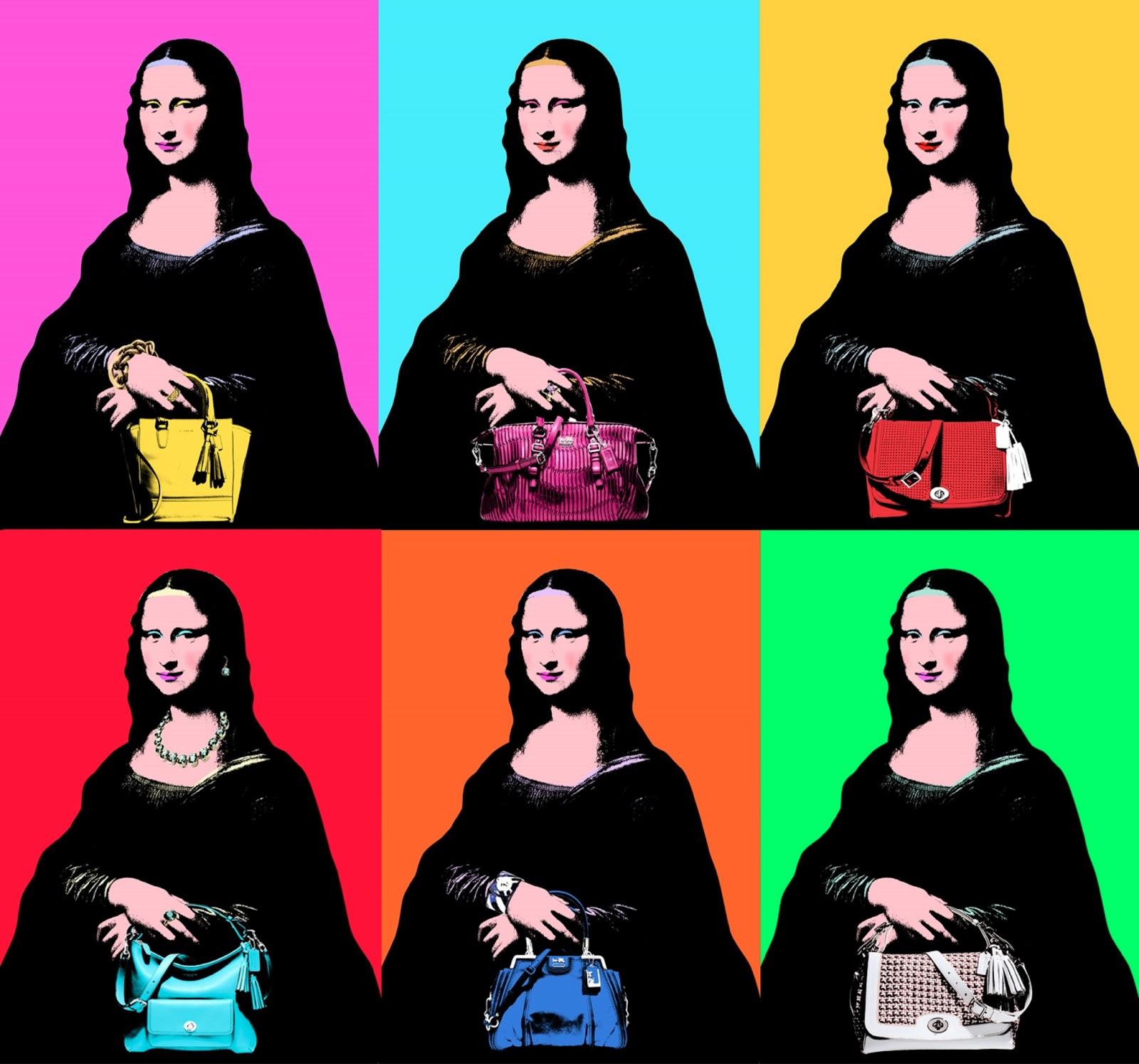 El bolso de la Gioconda