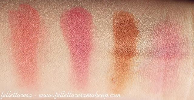 blush palette elf swatch
