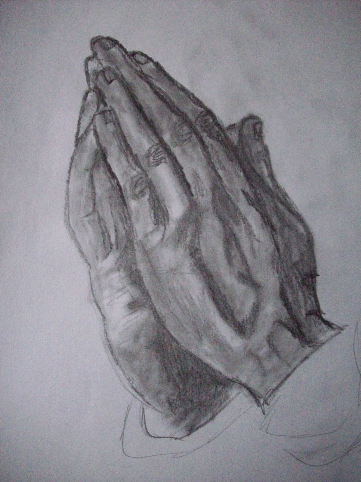 The Art of Kevin Diehl: Praying Hands