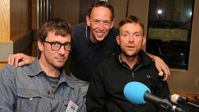 blur bbc, blur beebs, blur steve lamacq, grahamcoxon steve lamacq, graham coxon radio, damon albarn radio interview