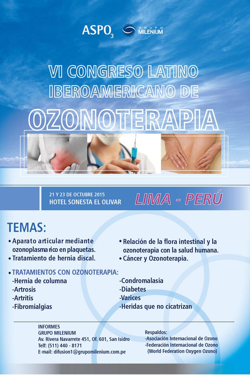 congreso de OZONOTERAPIA