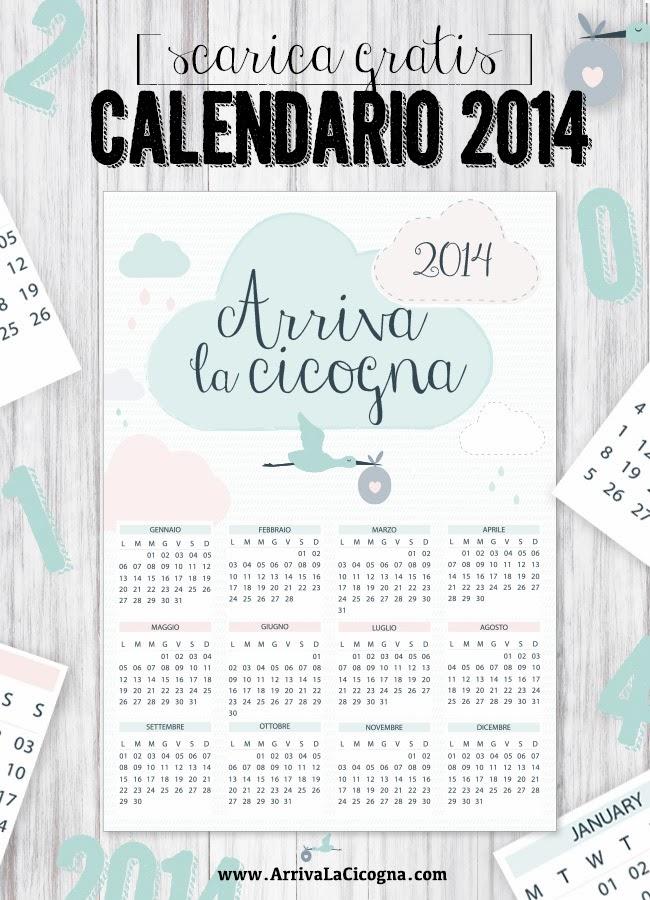 scarica calendario della cicogna 2014