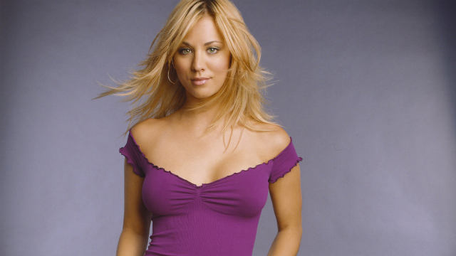 The 20 Hottest Photos of supermodel Kaley Cuoco
