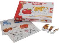 jeu éducatif puzzle : Mes premières lectures