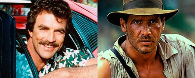 Tom Selleck como Indiana Jones (Raiders of the Lost Ark)
