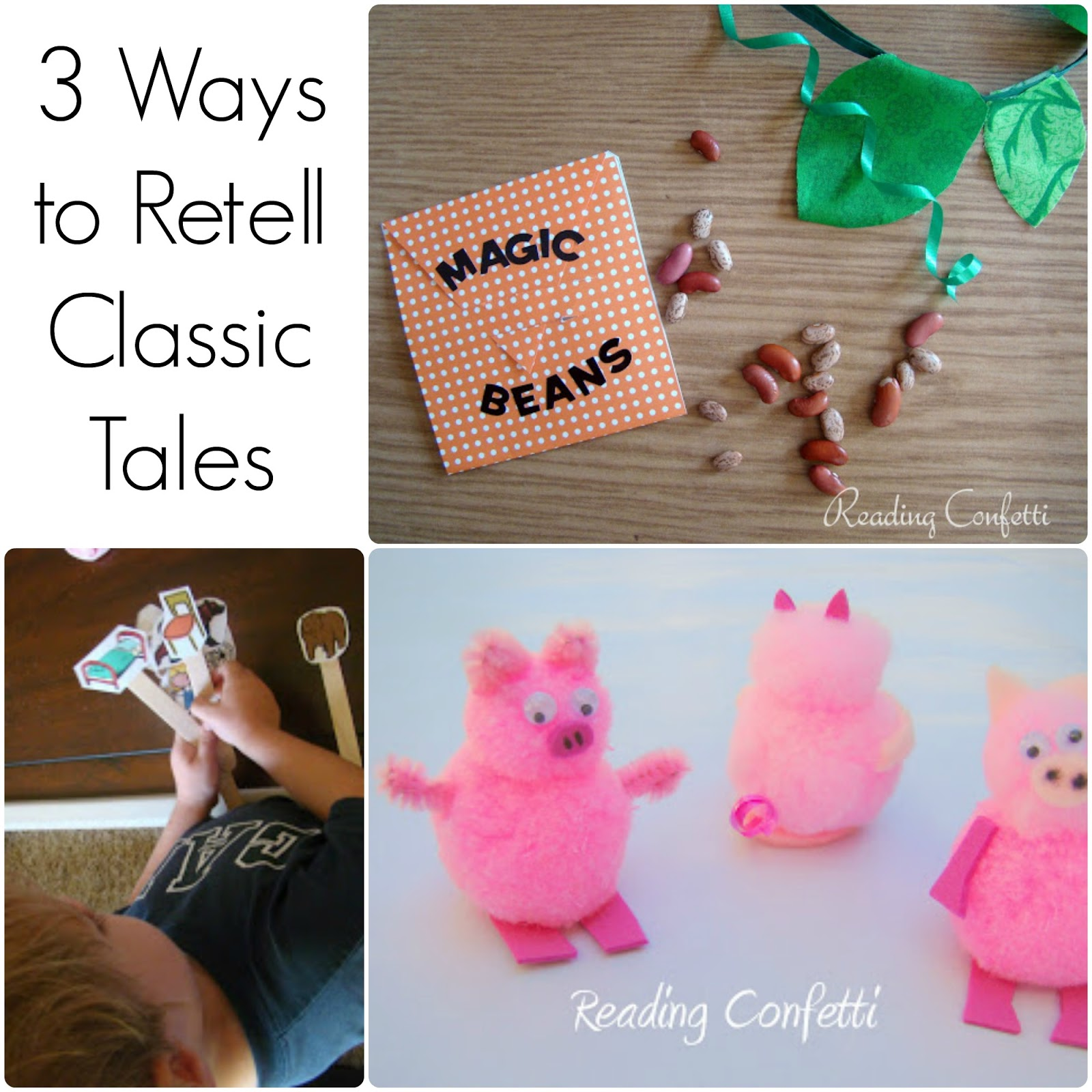 3 ways to retell classic tales