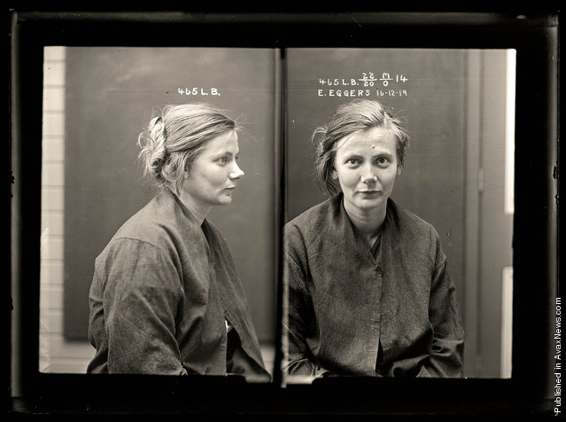 Vintage Mugshots Of Crimes Vintage Everyday