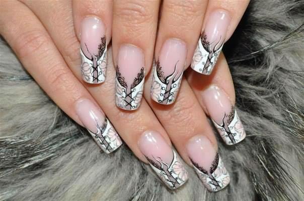 White Nail Designs.