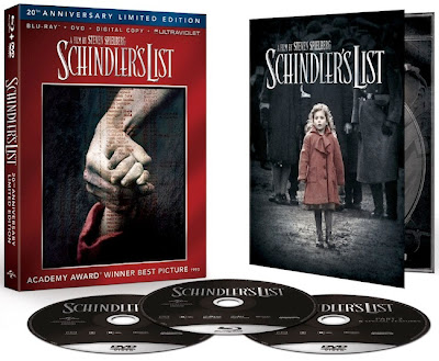Schindler's List Blu-Ray DVD Box Art