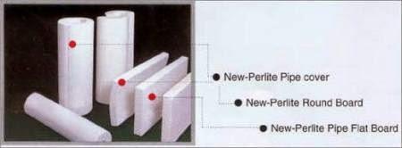 Material Perlite untuk Insulasi pipa