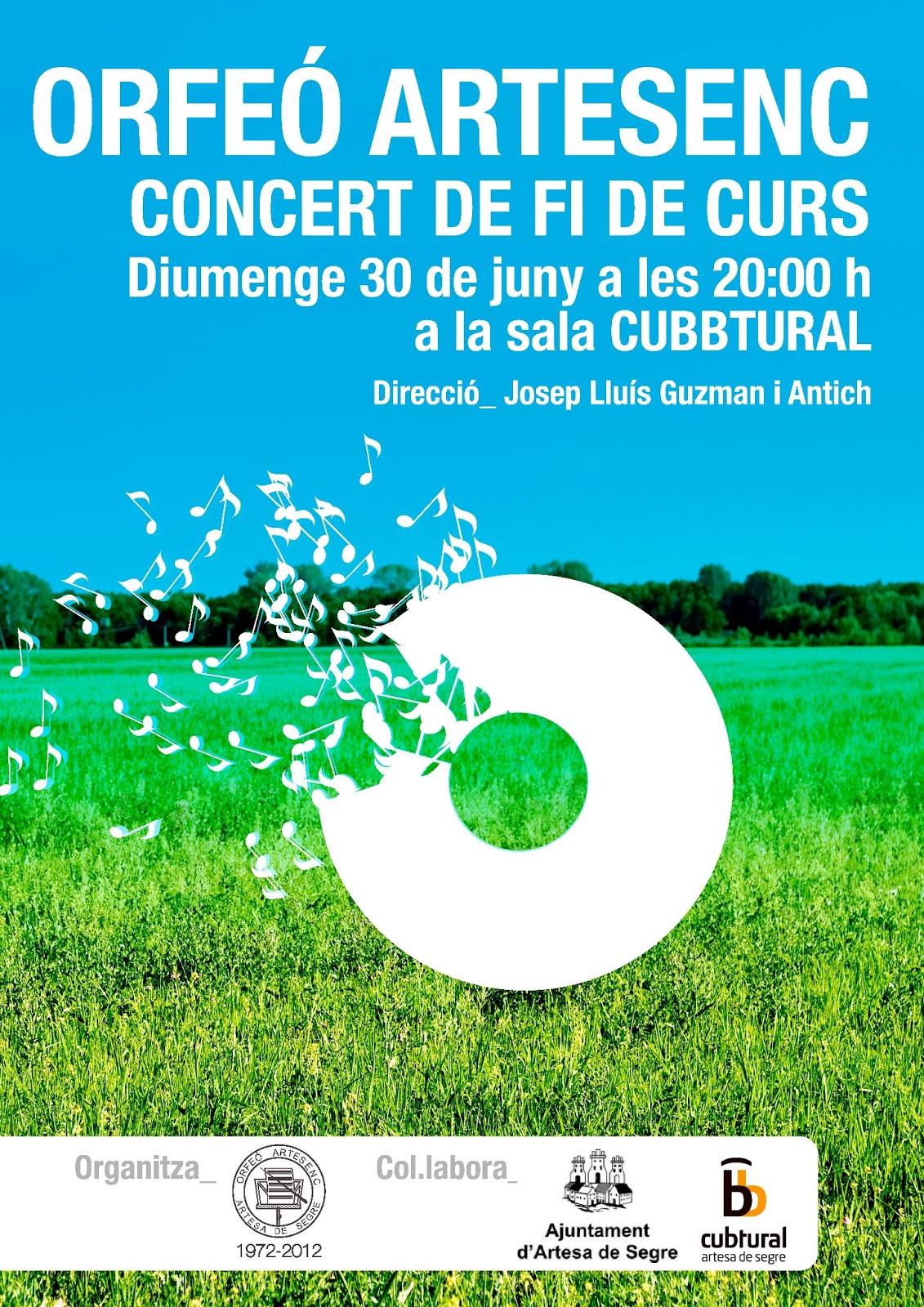 Artesa de segre rebost del montsec concert de l 39 orfe - Fusteria manel ...
