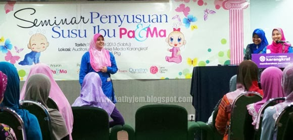 seminar penyusuan ibu