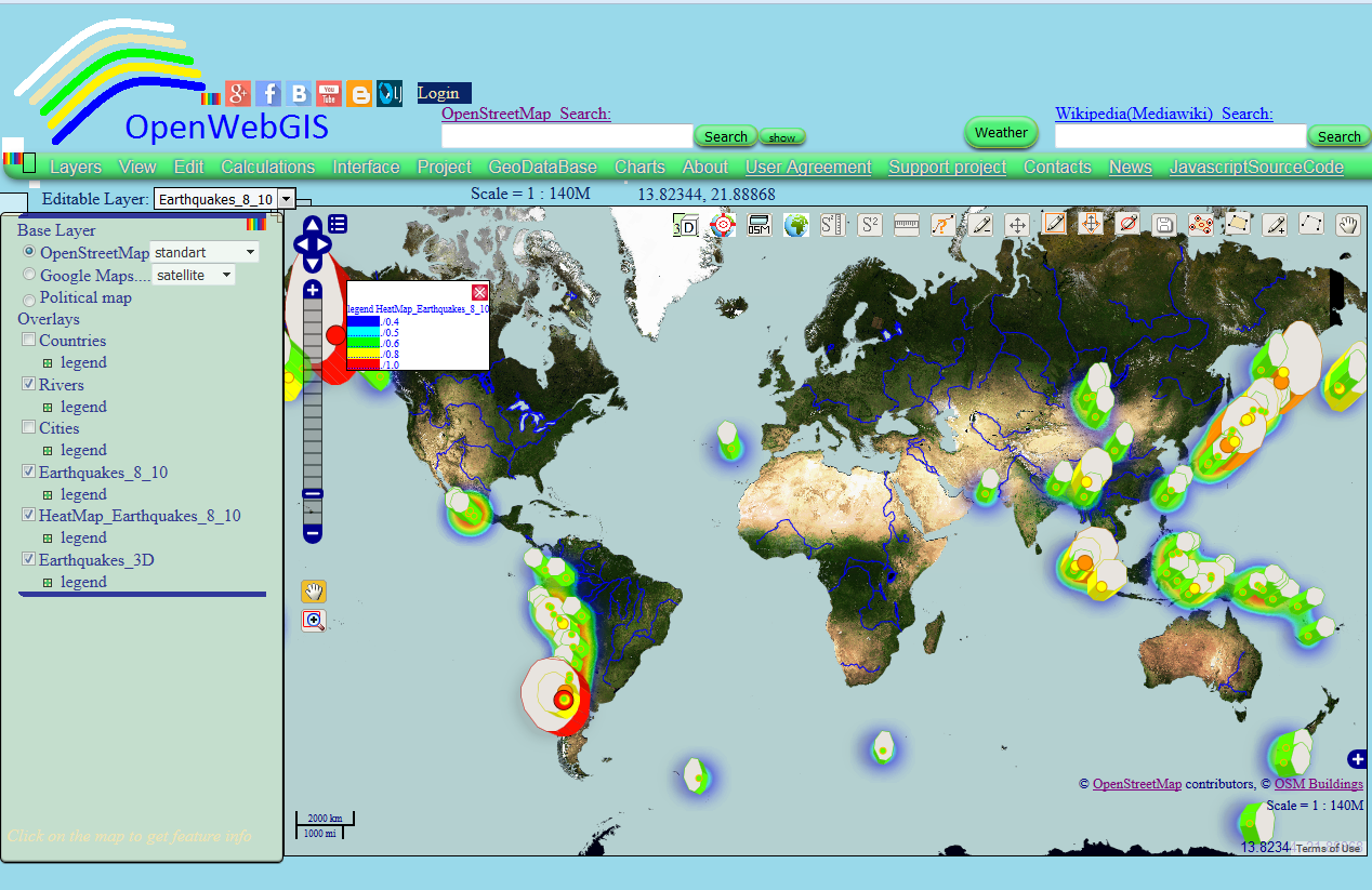 Openwebgis is free online gis the spatial distribution of great figure 1 gumiabroncs Choice Image