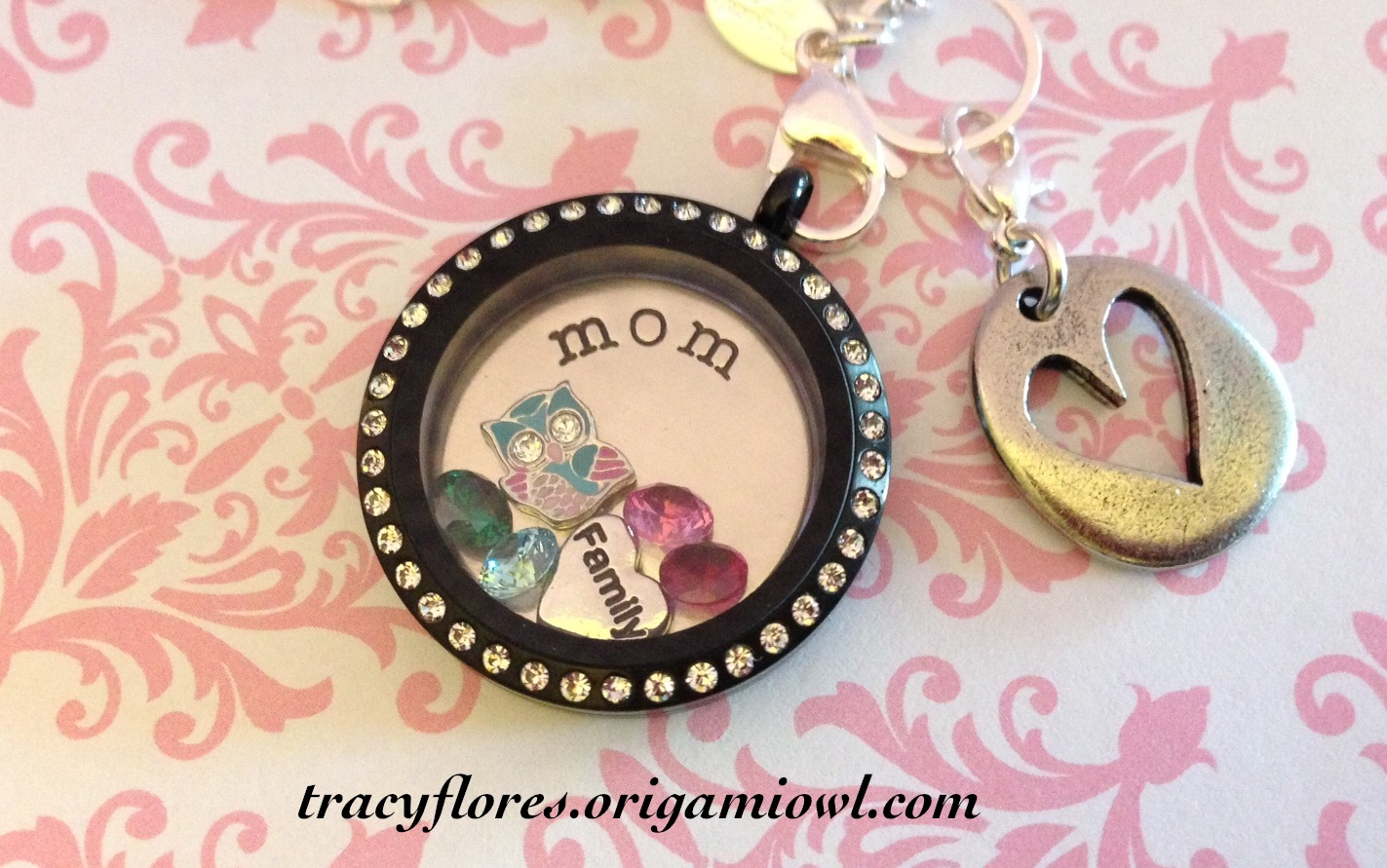 Origami owl lockets by tracy origami owl has also re released their mini lockets these are sooo cute and perfect for any age lovely with one little stone or to celebrate a momentous jeuxipadfo Image collections