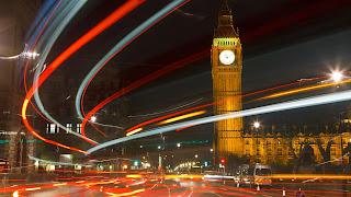 England London Big ben  City Night Lights HD Wallpaper