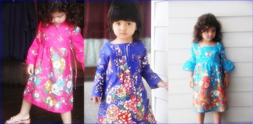 Baju Batik Anak Kecil Perempuan Baju Batik Anak Perempuan