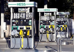 Hess to stop pumping gas