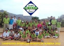 CAMPEONES INTERCLUB INFANTIL  ALMERIA 2011 y 2012