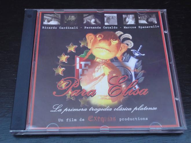 """""""PARA ELISA"""" EN DVD. $ 30 MÁS GASTOS DE ENVIO"""