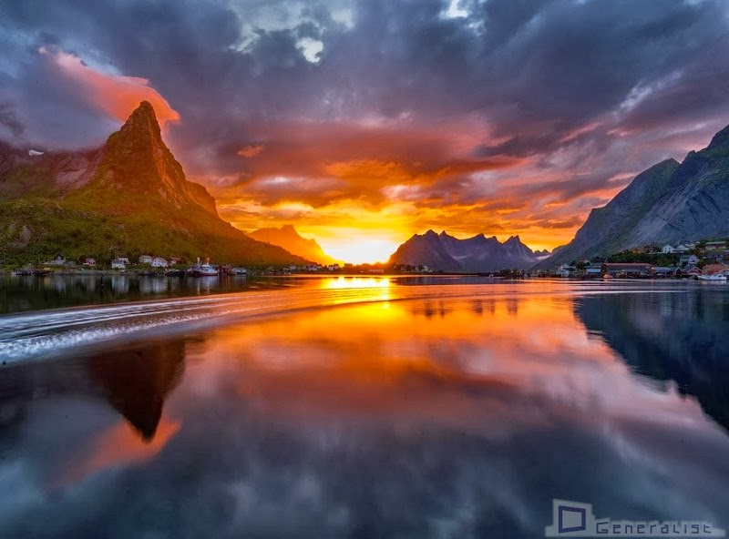 unset in Norway