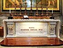 Tumba de San Juan Pablo II
