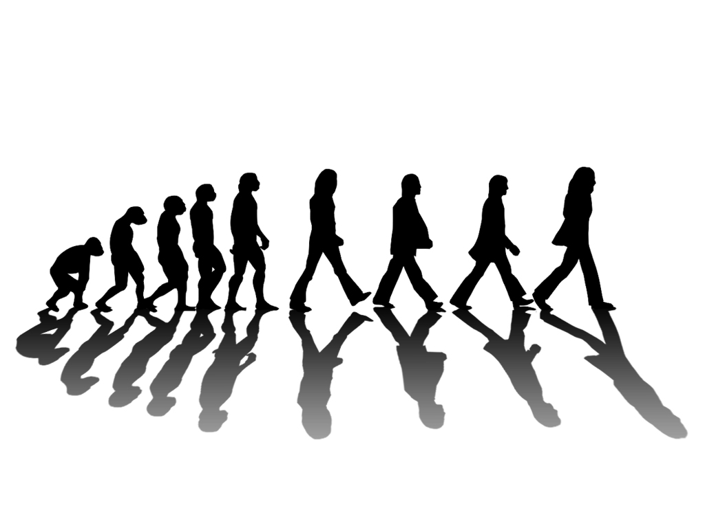 Beatles Evolution. Posted by The Happy Harris's at 1:35 PM
