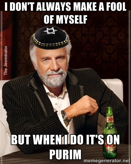 the most interesting Jew in the world meme purim