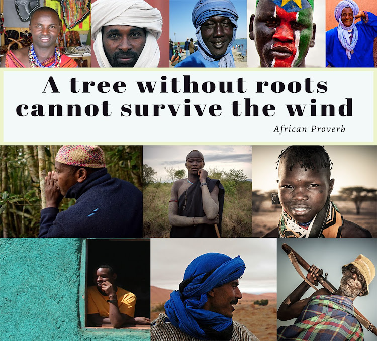 A tree without roots cannot survive the wind