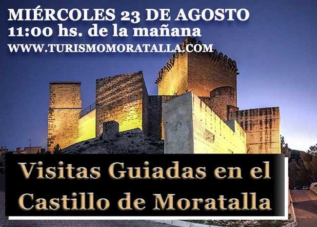 Visita Guiada en el Castillo de Moratalla:
