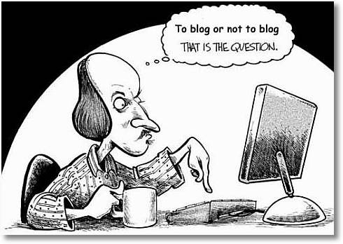 Compulsive Blogging....