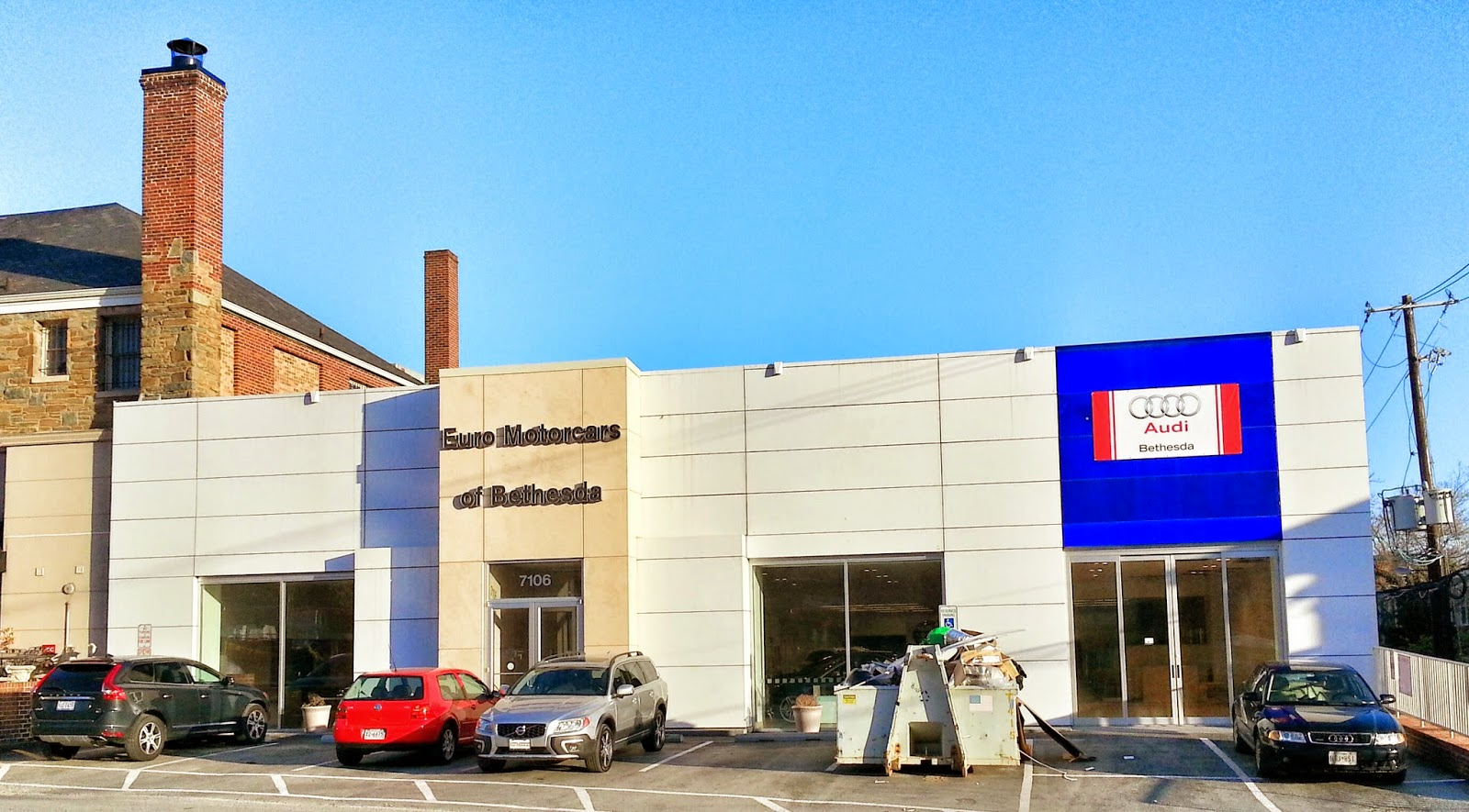Robert Dyer @ Bethesda Row: Bethesda gets Audi dealership, Ourisman Volkswagen to open today ...