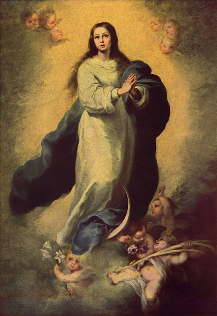 virgin mary murillo