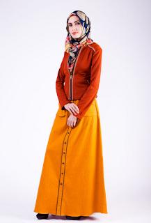10 Baju-baju Muslim Modern Terbaru 2016 untuk Wanita