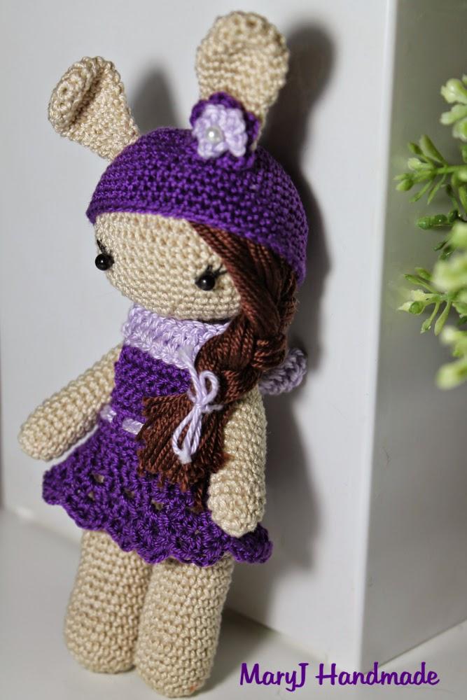 Amigurumi Tutorial Bamboline : MaryJ Handmade: Bambolina - coniglietto amigurumi