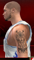 NBA 2K13 Tattoos Mod - 3 Stars and a Sun Tribal