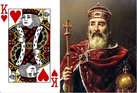 # Raja Hati = Charlemagne/ Raja Prancis