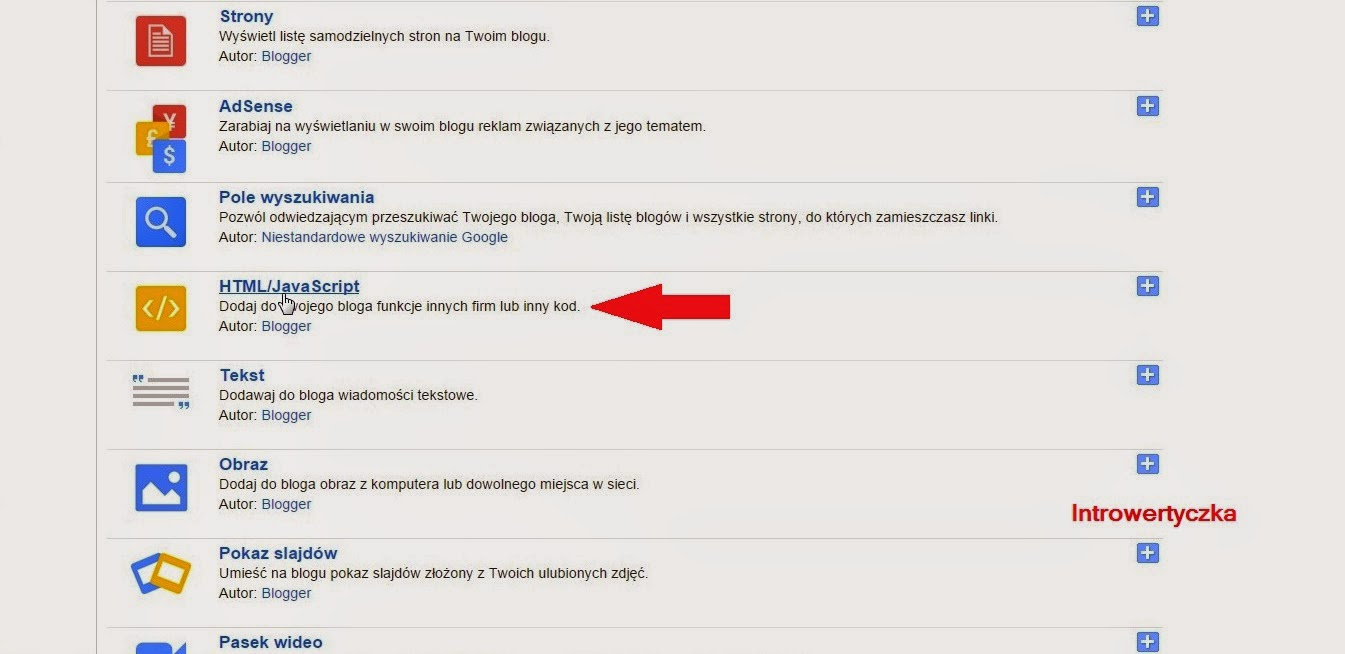 Blogger - HTML/Javascript