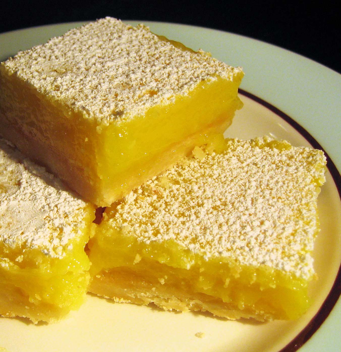 Lemon Square Bars Recipe — Dishmaps