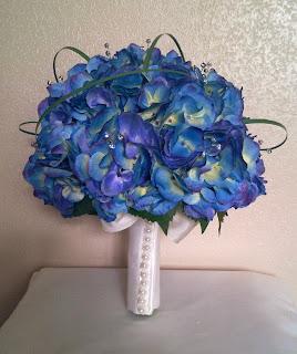Ramos de Novia Color Azul, parte 4