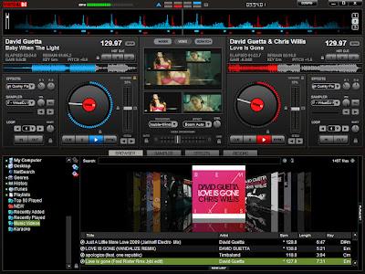 Virtual DJ 7 Pro + Crack Screenshot