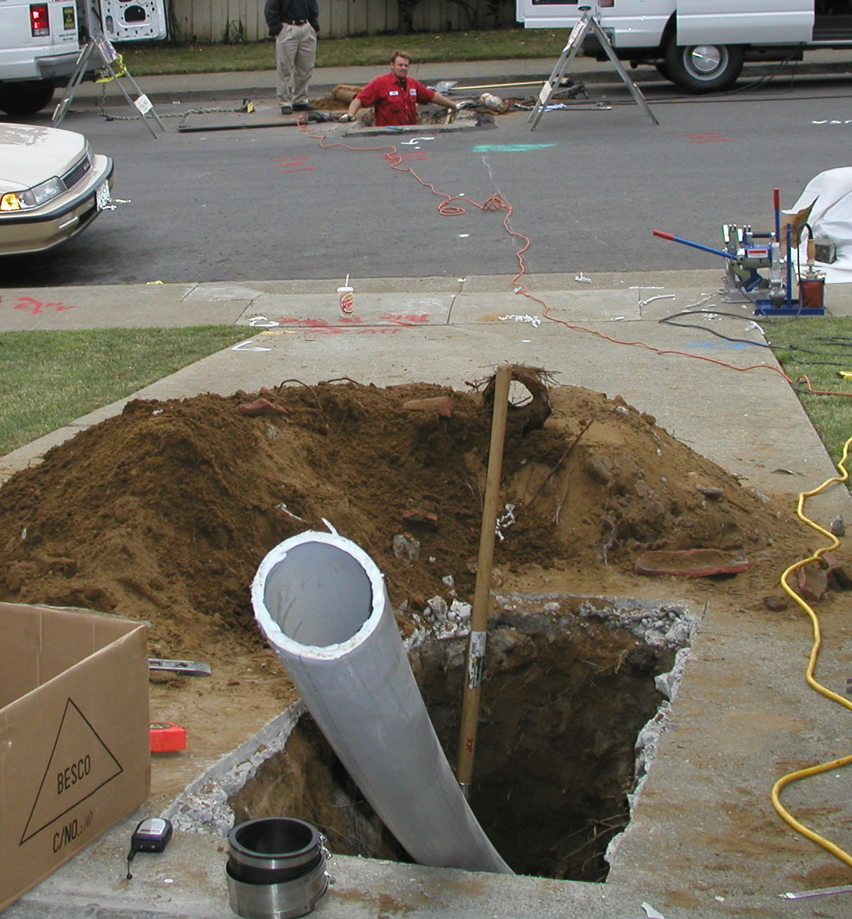 Backyard Nature Store Oakville : Directional Drilling in Oakville ~ Commercial Electrical Contractor in