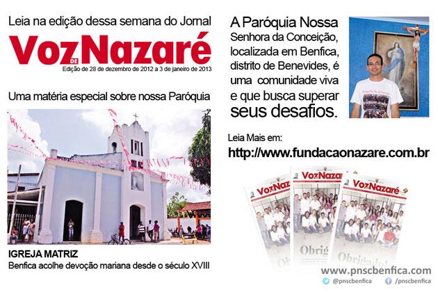 jornal voz de nazaré