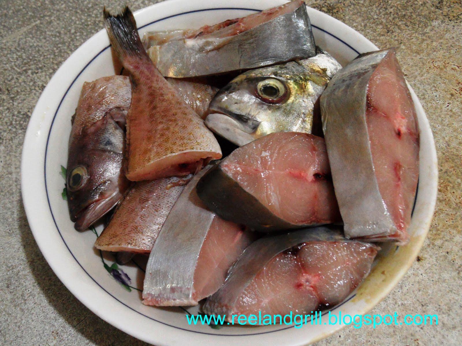 Reel and grill paksiw na lapu lapu at talakitok grouper for Serving size of fish
