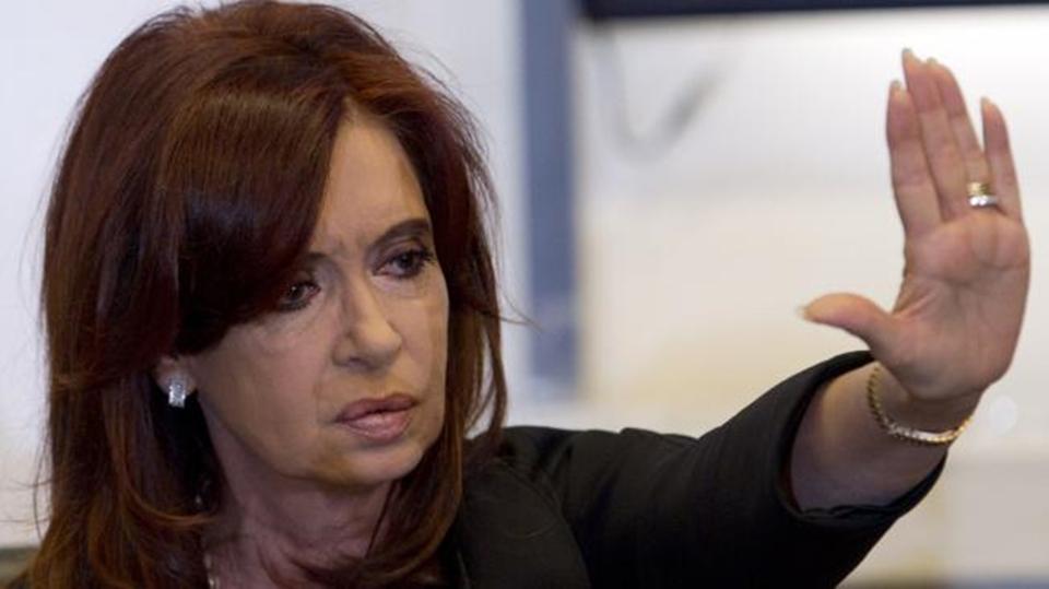 Cristina enojada con el PRO Ushuaia