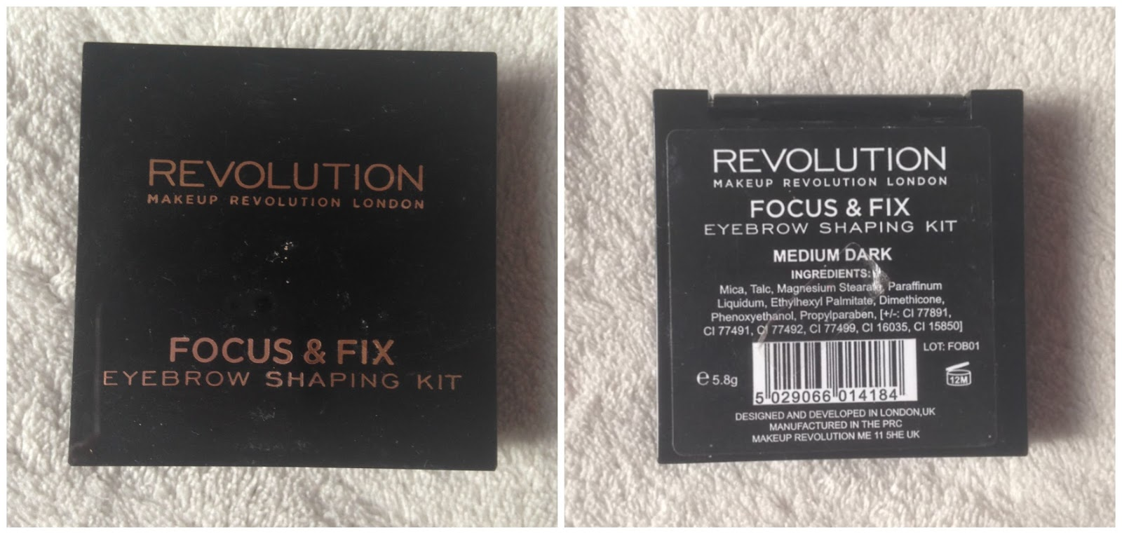 Review Makeup Revolution Eyebrow Shaping Kit Charlotte Louise