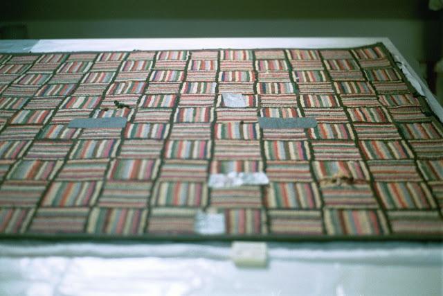 duct tape repair to textiles, art conservator,