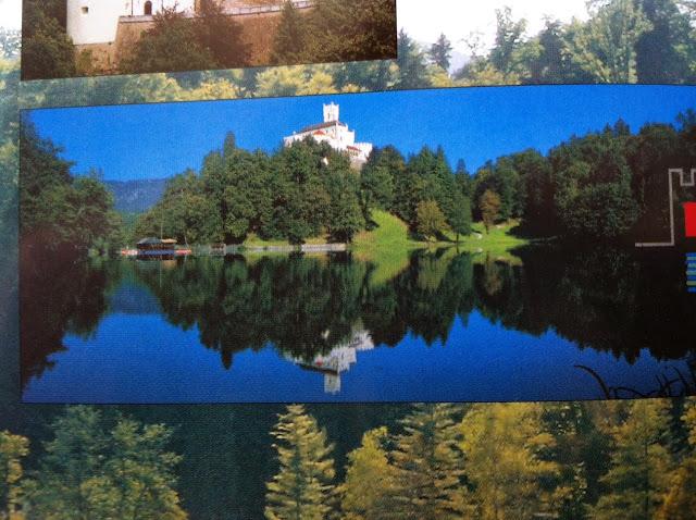 Вид на замок Тракошчан. Фото из буклета